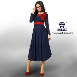 black kurti for Womens