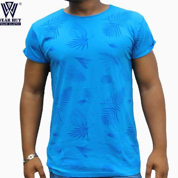 Ligth blue leap t-shirt