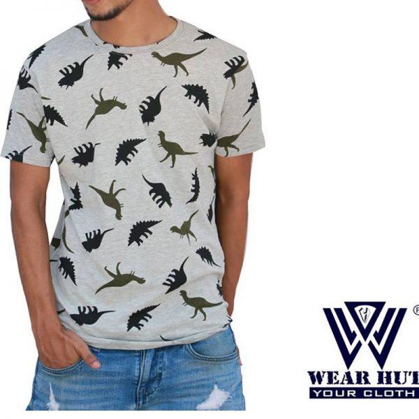 Animal print t-shirt for men's
