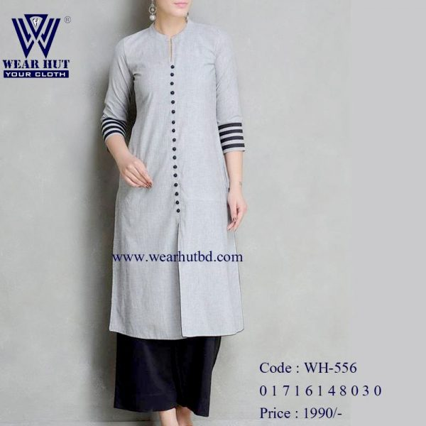 ash color new women's dress