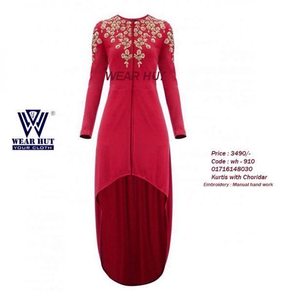 Latest womens maroon kurtis bangladesh