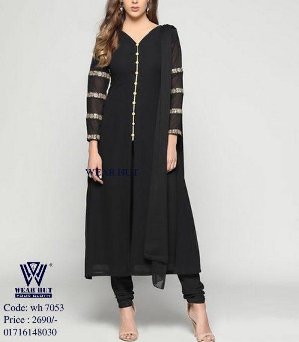Best Black design three piece women's online shopping BD