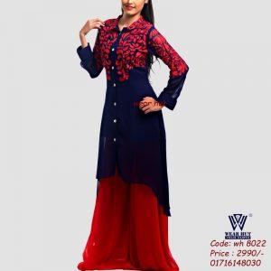 Valentin Red dress for women's online shopping