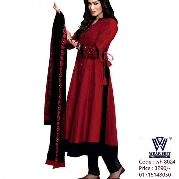 Deep casual red dress online shopping for Women's