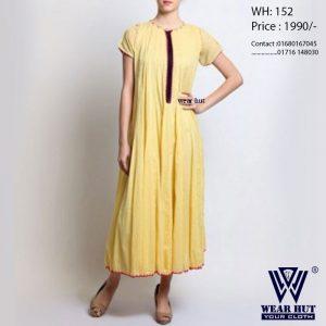 Summer kurti long design for women's online shopping wear hut bd online shop