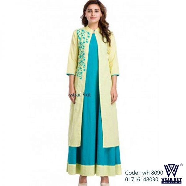 koty style two part long cotton linen summer dress womens wear online casual dress