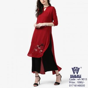 Exclusive Boishakhi red dress for women's wear dress ,cloth ofr online shopping BD