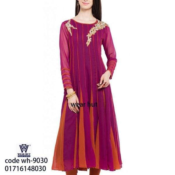 Colorful stylist casual women's dress for online shopping in DhakaBangladesh