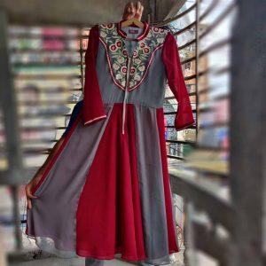 Long kurti design for girls in Bangladesh online shopping 2021-2022