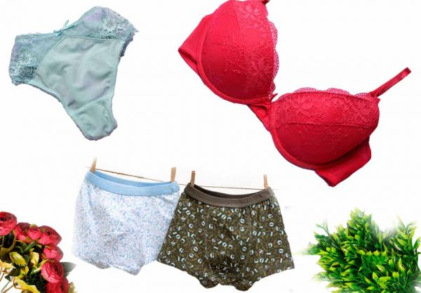 women's underwear bra pante panty and man's underwear design in Bangladesh