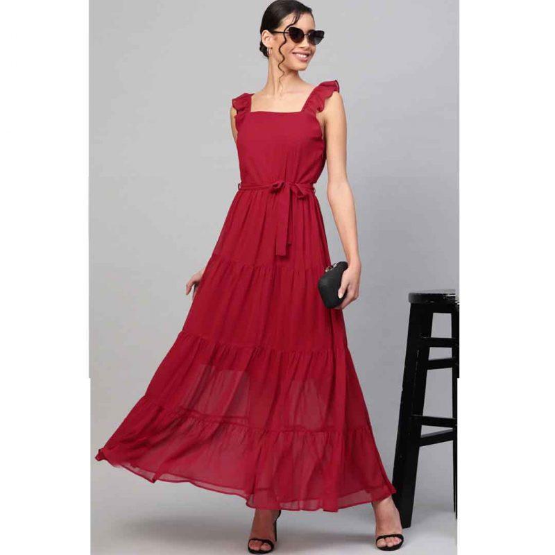Maxi Dress Design for girls women's online shopping bd