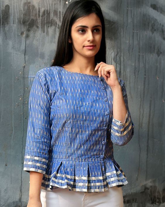 short tops design for girls